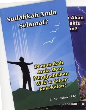 Are You Saved? (Indonesian)