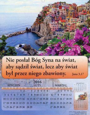 Calendar ~ Joyful News (Polish)