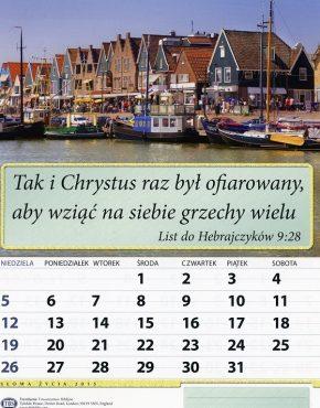 Calendar ~ TBS wall (Polish)