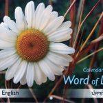 Calendar ~ Word of Life  (Punjabi/English)