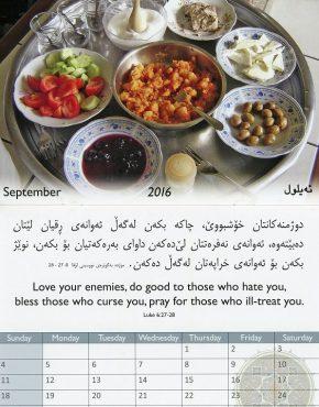 Calendar - Word of Life (Kurdish/English)