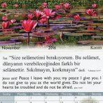 Calendar ~ Word of Life  (Turkish/English)