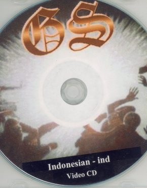 God's Story VCD (Indonesian)