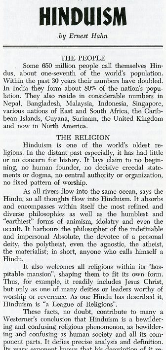 a description of the hinduism religion Thus hinduism is a pantheistic religion: [] toggle navigation search submit here are just some of the many hindu gods and goddesses: brahma, the creator.