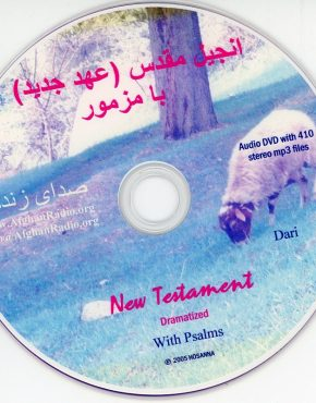 New Testament & Psalms CD (Dari)