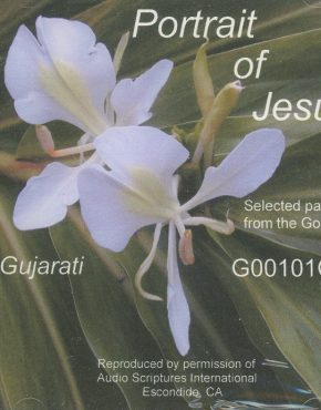 Portrait of Jesus (Gujarati)