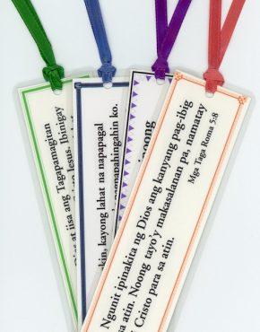 Scripture bookmark (Tagalog)