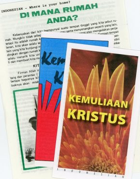 Tracts ~ assorted (Indonesian)