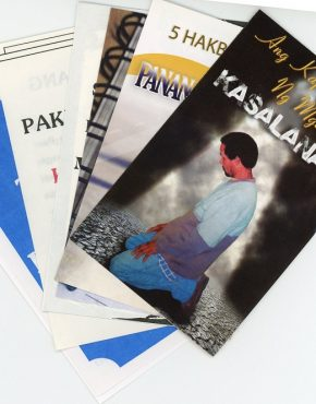 Tracts - assorted (Tagalog)